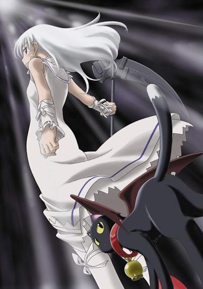постер аниме Момо, маленькая богиня смерти