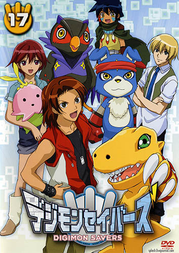 постер аниме Digimon Savers
