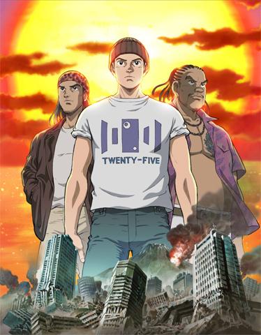 постер аниме Дух Солнца