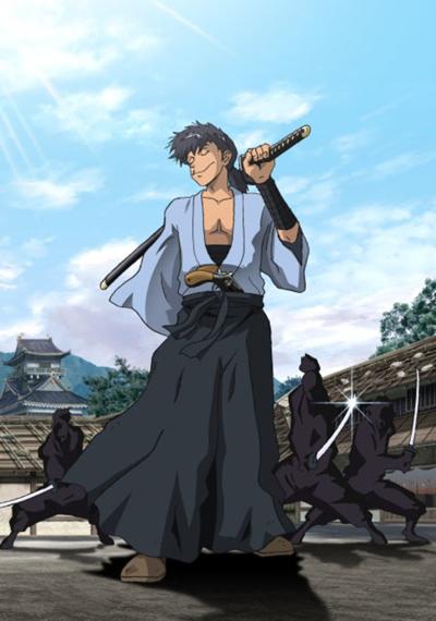 постер аниме Gundou Musashi
