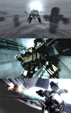 постер аниме Armored Core: Fort Tower Song