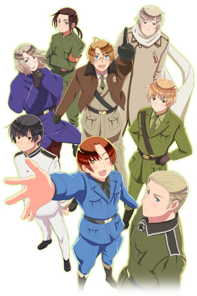 постер аниме Hetalia: The World Twinkle
