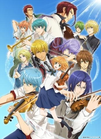 постер аниме Золотая струна 3