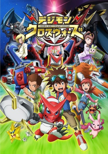 постер аниме Digimon Xros Wars