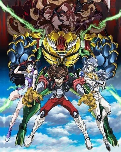 постер аниме Koutetsushin Jeeg