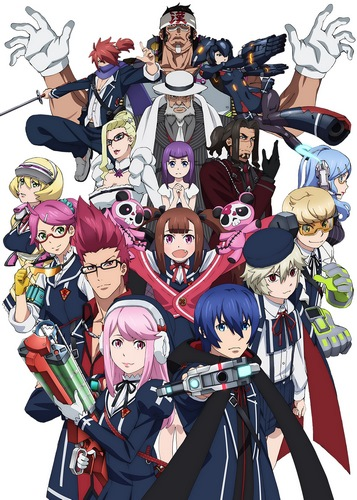 Небесный стрелок / Gunslinger Stratos The Animation