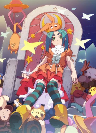 постер аниме История одержимости: Кукла Ёцуги