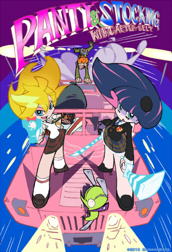 постер аниме Panty&Stocking with Garterbelt