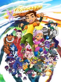 постер аниме MapleStory