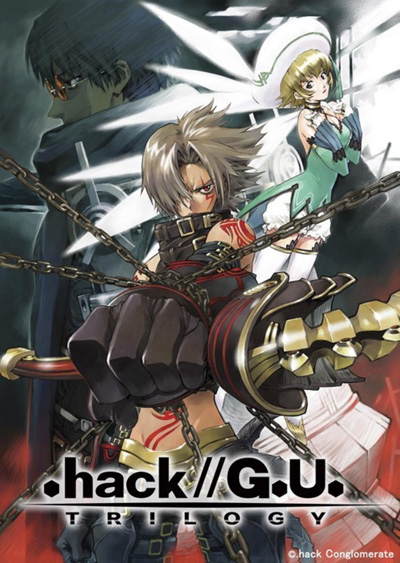 постер аниме .hack//G.U. Trilogy