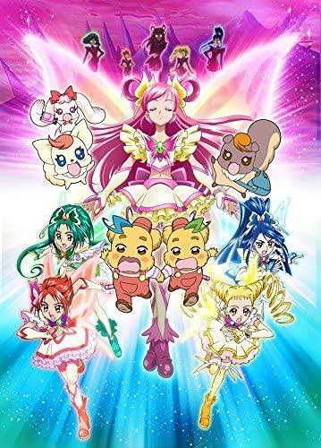 постер аниме Yes! Precure 5: Kagami no Kuni no Miracle Daibouken!