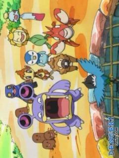 постер аниме Pokemon Fushigi no Dungeon: Toki no Tankentai, Yami no Tankentai
