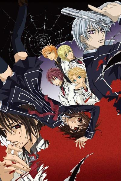 постер аниме Рыцарь-вампир (первый сезон)