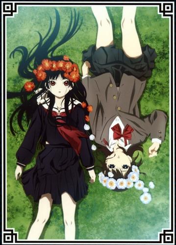 постер аниме Адская девочка (третий сезон)