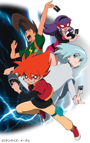 постер аниме Battle Spirits: Shounen Toppa Bashin