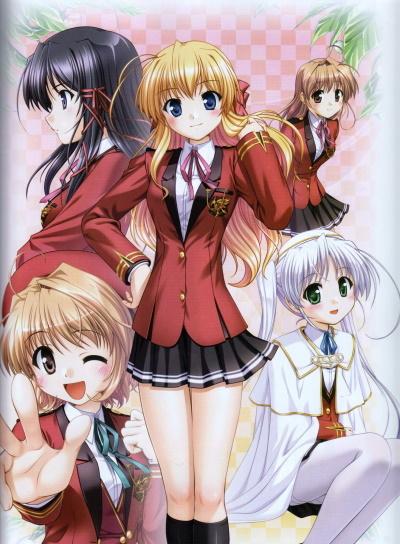постер аниме Развилка фортуны OVA