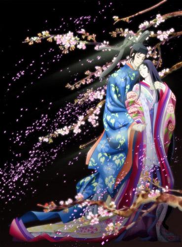 постер аниме Повесть о Гэндзи: Тысячелетие