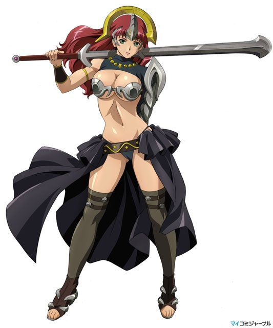 Аниме - Клинок королевы [ТВ-1] (Queen's Blade ...: www.world-art.ru/animation/animation.php?id=7174