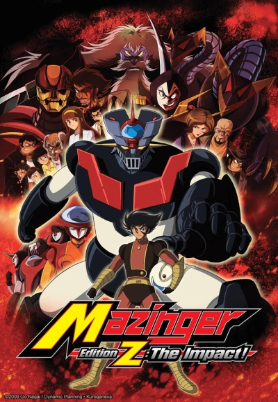 постер аниме Shin Mazinger Shougeki! Z Hen on Television