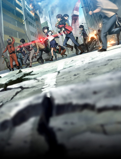 постер аниме Токийское восьмибалльное