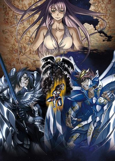 постер аниме Рыцари Зодиака: Утерянный холст (часть 1)