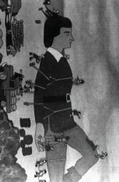 постер аниме Gulliver Funtouki