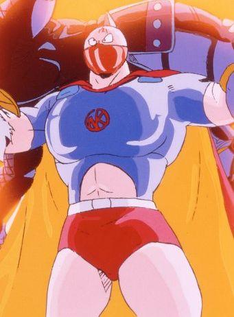 постер аниме Kinnikuman: Kessen! Shichinin no Seigi Choujin vs Uchuu Nobushi