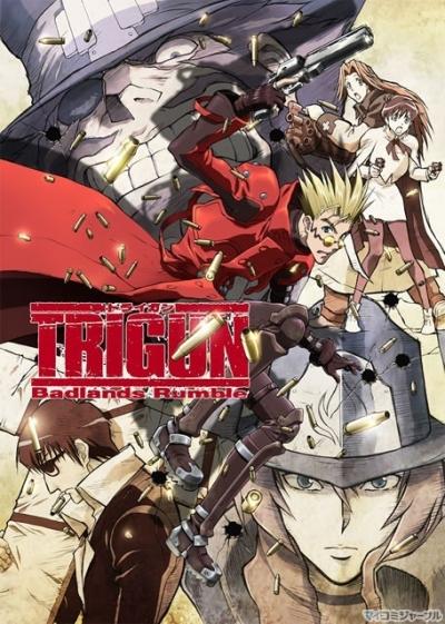 постер аниме Триган - Фильм