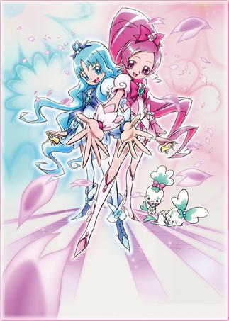 постер аниме Heartcatch Precure!