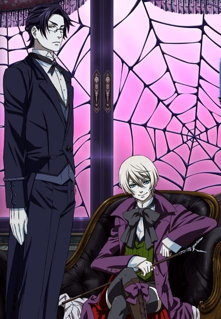 Демон-дворецкий 2 сезон / Тёмный дворецкий 2 сезон / Black Butler 2 / Kuroshitsuji 2 сезон