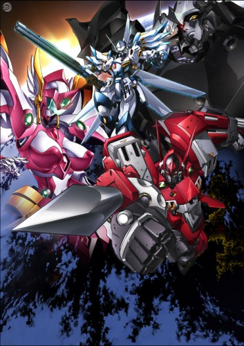 постер аниме Super Robot Taisen OG: The Inspector