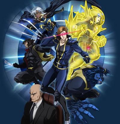 постер аниме Люди Икс