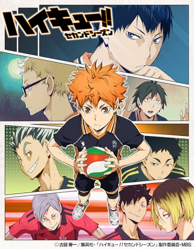 Волейбол 2 сезон | Haikyuu!! Second Season
