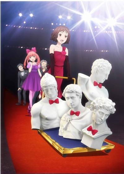 постер аниме Юноши из гипса
