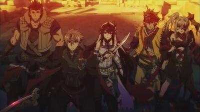 постер аниме Lord of Vermillion III Special Anime Movie