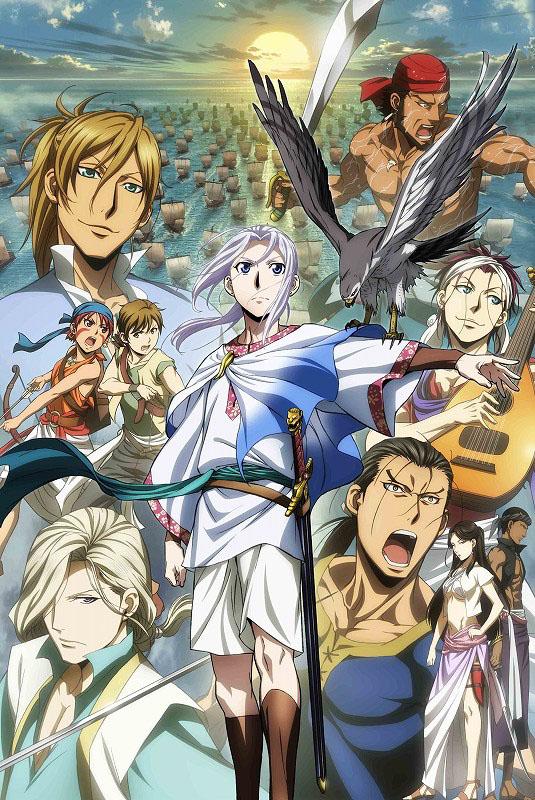 Сказание об Арслане 2 сезон / Arslan Senki: Fuujin Ranbu