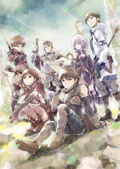 Гримгал пепла и иллюзий / Grimgar of Fantasy and Ash (01-12 из 12)