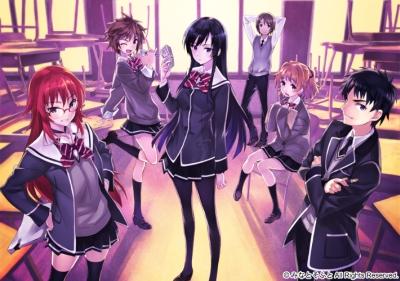 постер аниме Девушки, покоряющие новые горизонты OVA