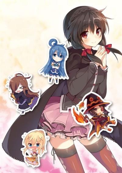 постер аниме Этот замечательный мир! OVA-1