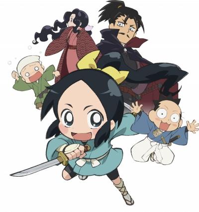 постер аниме Ниндзя Нобунаги [ТВ-1]