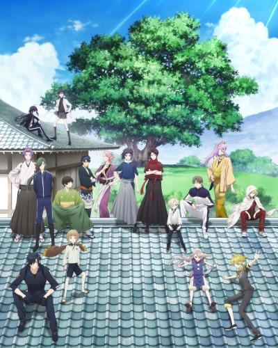 постер аниме Танец мечей: Цветочный круг [ТВ-1]