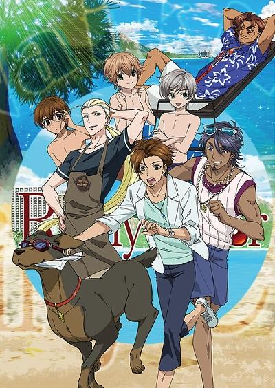 постер аниме Ame-iro Cocoa in Hawaii