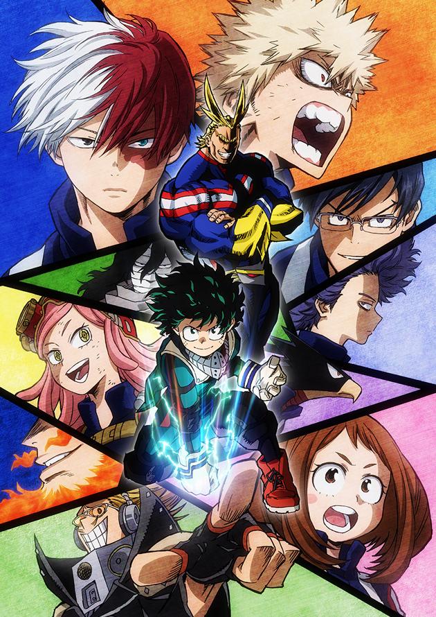 Смотреть аниме Моя геройская академия (второй сезон) [25 из 25] онлайн