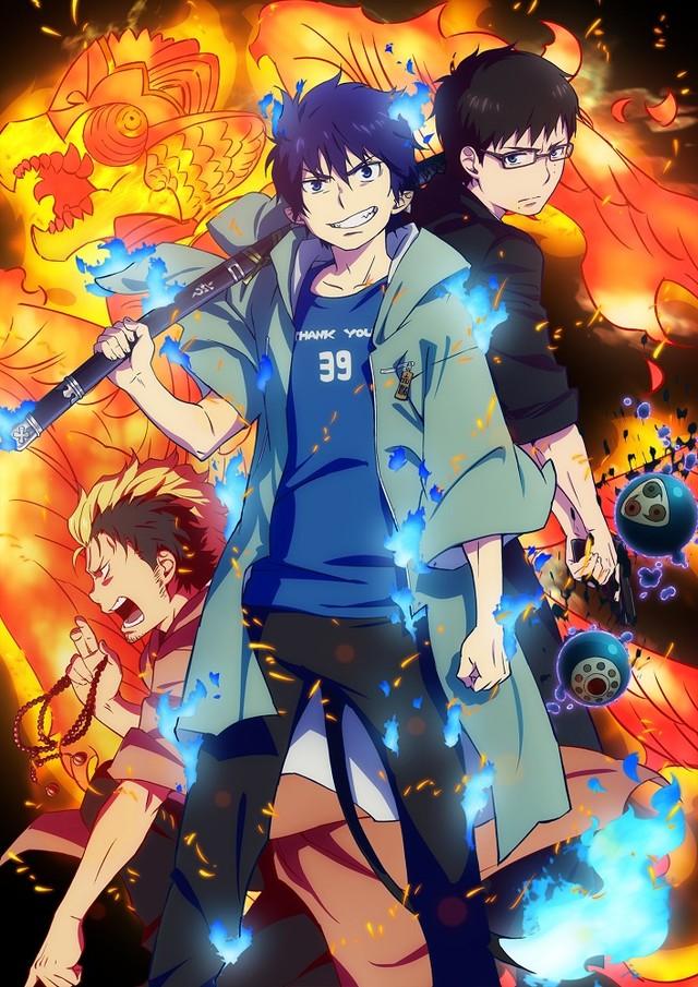 Синий Экзорцист 2 сезон | Ao no Exorcist: Kyoto Fujouou Hen
