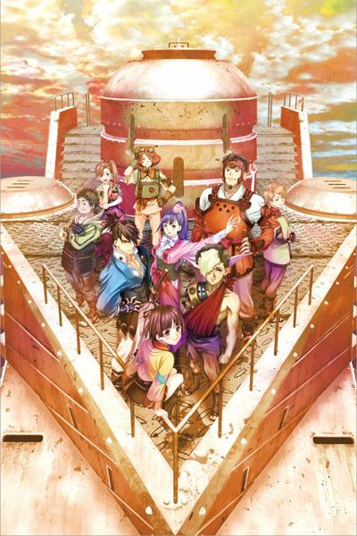 постер аниме Кабанери железной крепости (компиляция)