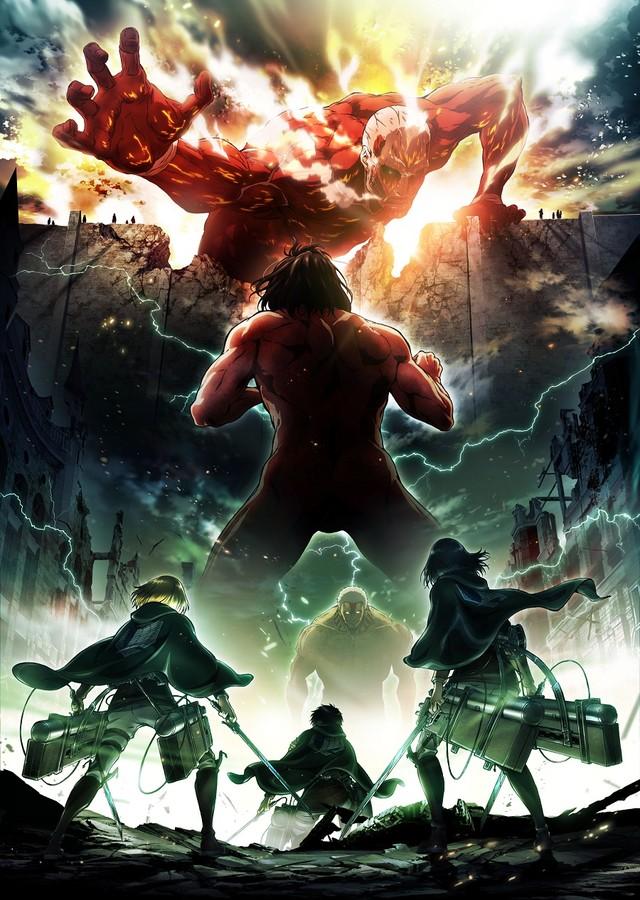 Смотреть Вторжение Гигантов (второй сезон)  [00 из ХЗ] онлайн