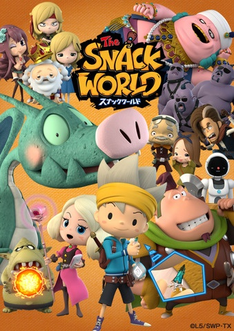 постер аниме The Snack World