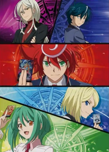 постер аниме Cardfight!! Vanguard G Next