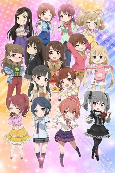 постер аниме Idolmaster Cinderella Girls Gekijou