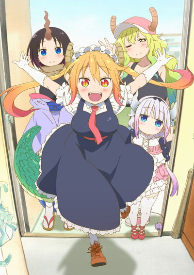 Дракон-горничная госпожи Кобаяши / Kobayashi-san Chi no Maid Dragon [2017]